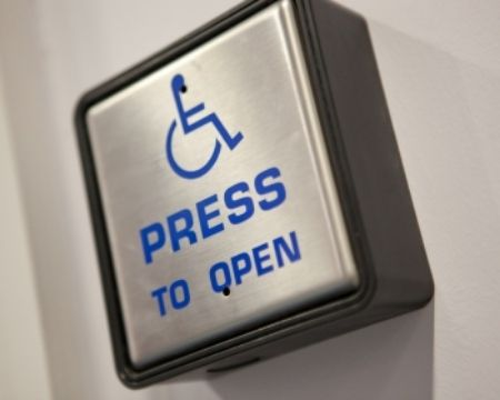 Disabled Access Button