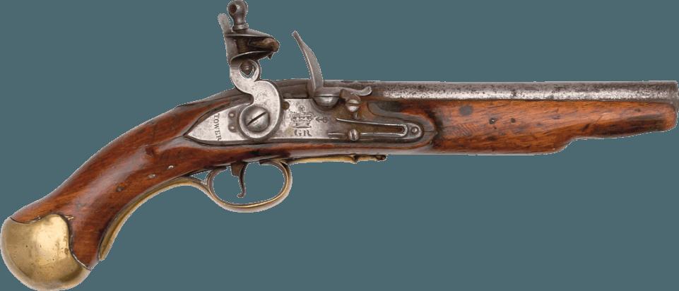 An image of a pistol
