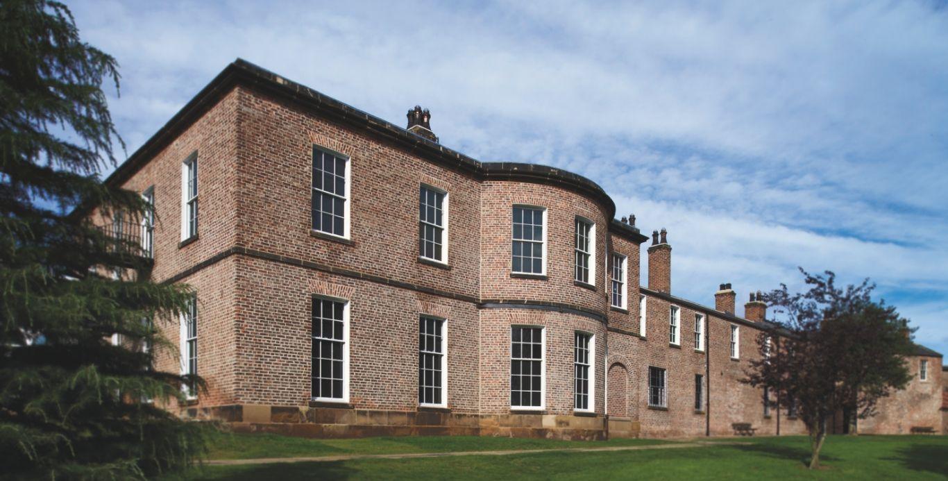 An image of Preston hall