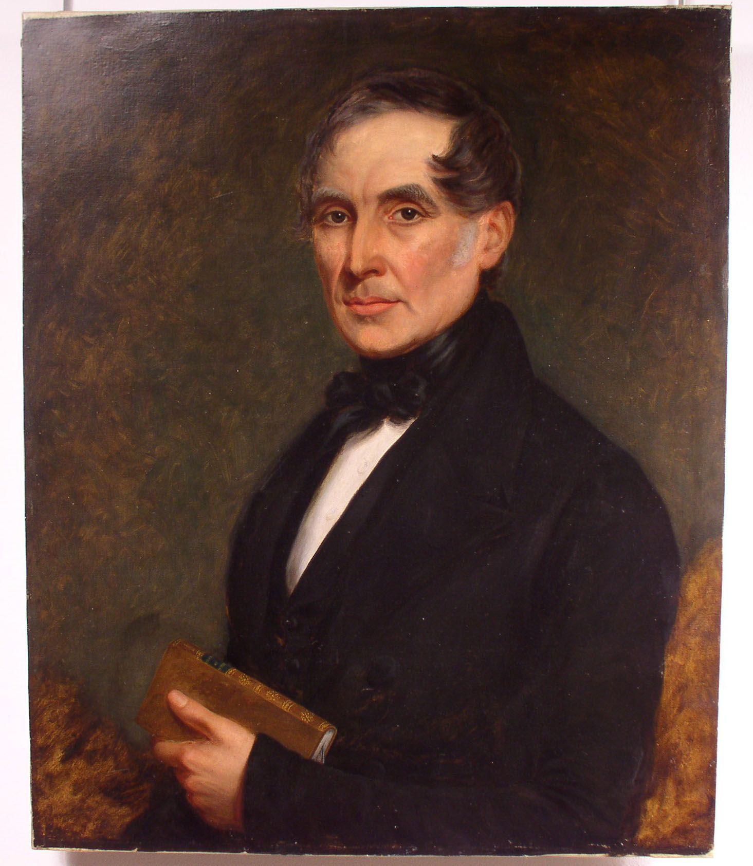 A portrait of Henry Heavisides