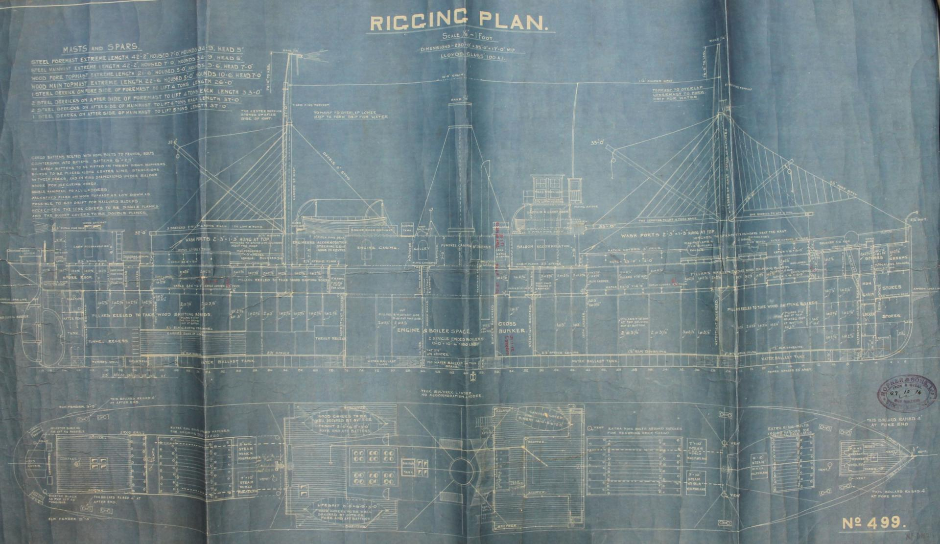 Halberdier Rigging Plan