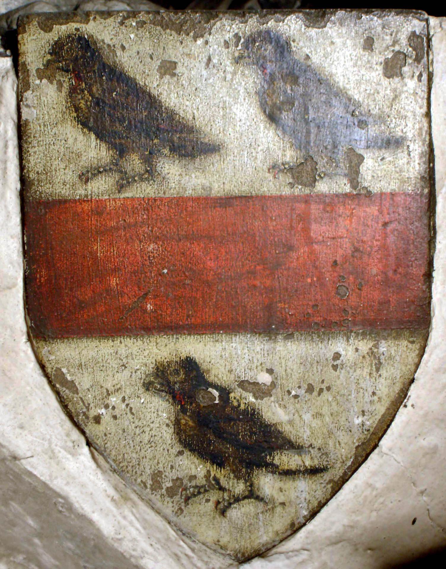 Robert De Thweng Painted Shield