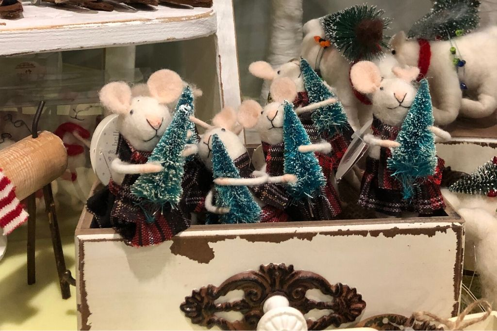 Felted Mice