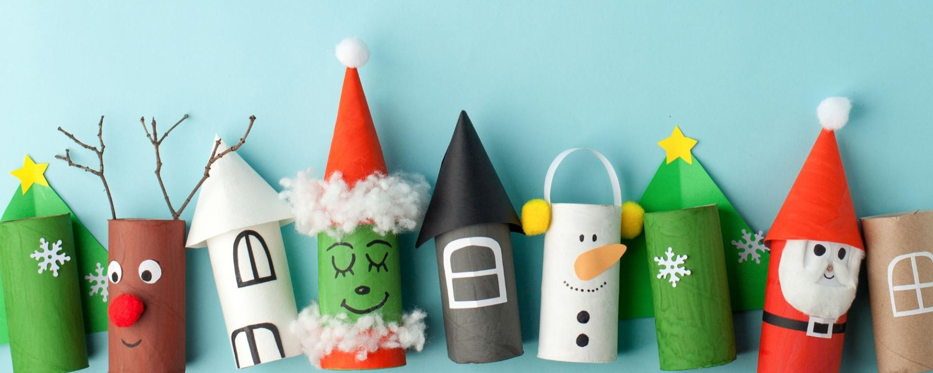 Christmas Paper Cup Craft Idea