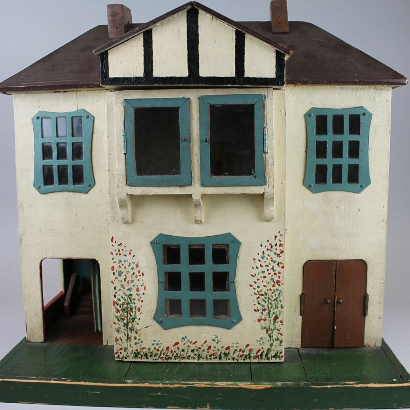 Wooden Dolls House From The 1930s