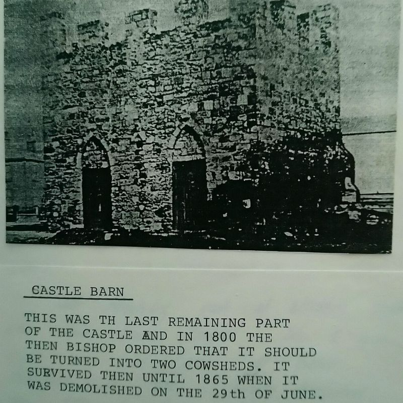 Image of the last remaining part of Stockton Castle
