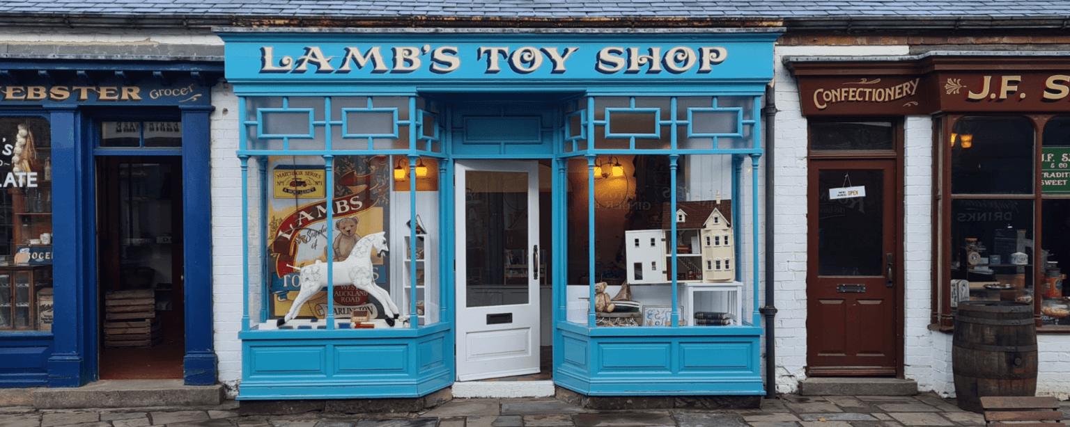 Preston Park Lambs Toy Shop