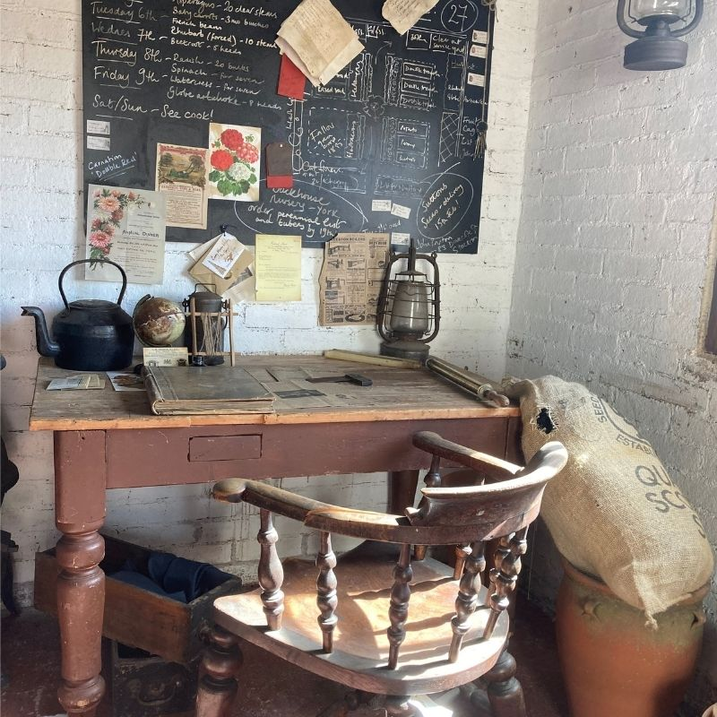 The Bothy As It Would Have Been In A Victorian Walled Kitchen Garden