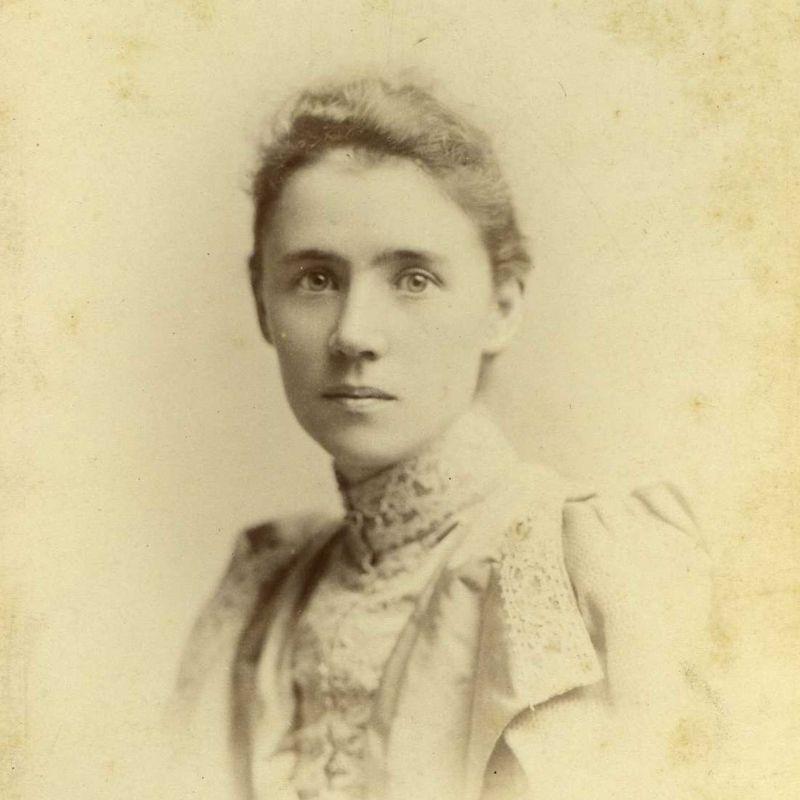 Portrait Of A Victorian Women In 1880