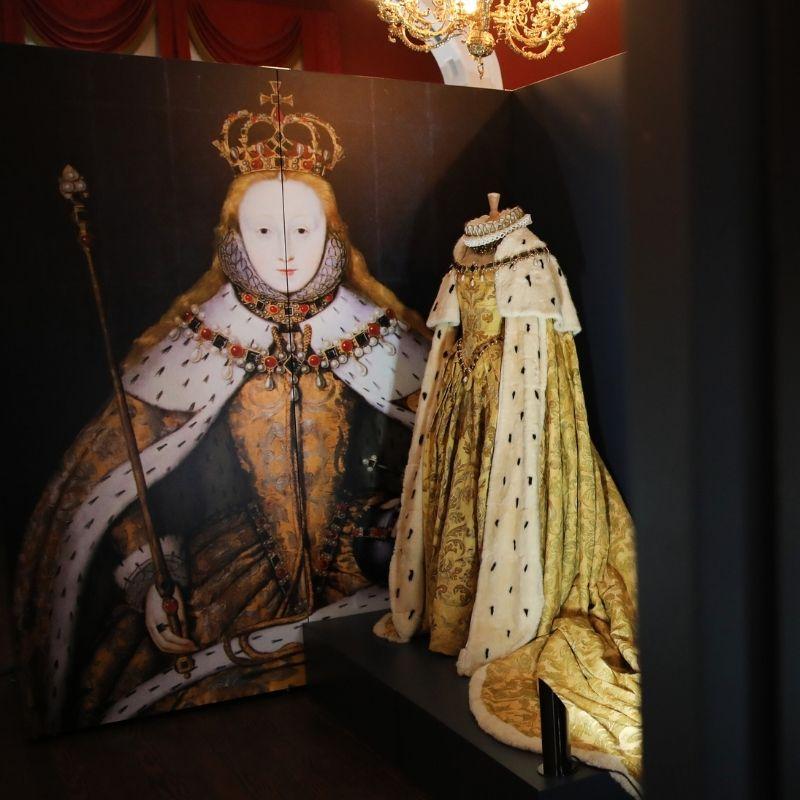 Regal Dress On Display At Preston Park Museum