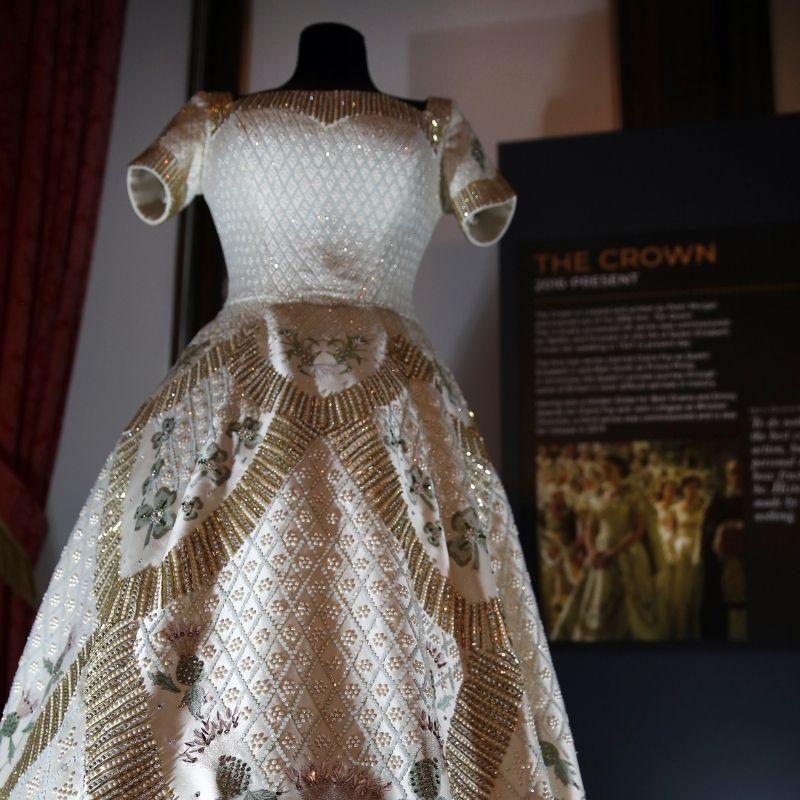 The Crown Coronation Dress