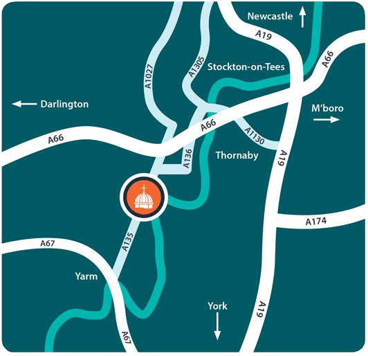 Preston Park Location Direction Map