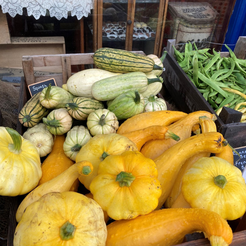 Home Grown Squash For Sale