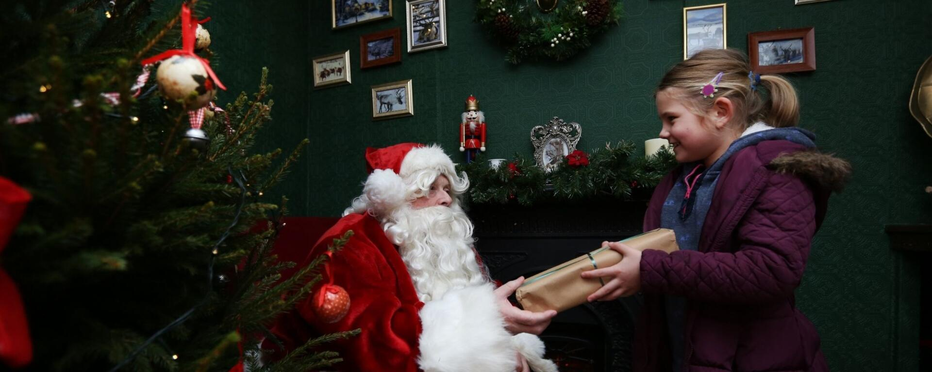 Meet Father Christmas At Preston Park